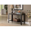 """ACCENT TABLE - 44""""L / CAPPUCCINO MARBLE TOP Product Image"""
