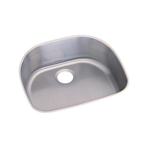"Dayton Stainless Steel 23-1/2"" x 21-1/8"" x 9"", Single Bowl Undermount Sink"