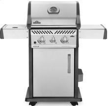 Rogue® 365 Natural Gas Grill with Infrared Side Burner, Stainless Steel
