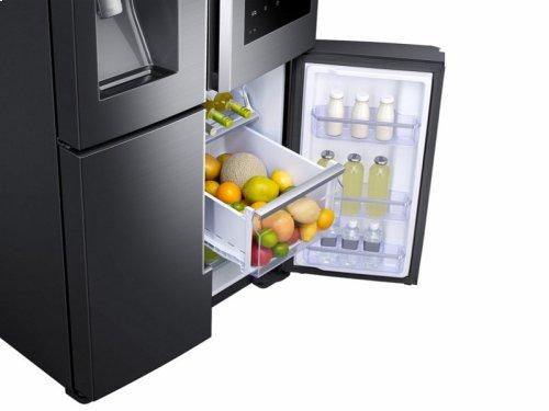 28 cu. ft. Capacity 4-Door Flex Refrigerator with Family Hub - Floor Model