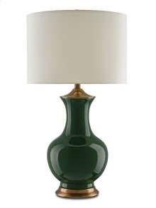 Lilou Table Lamp, Green - 31.5h