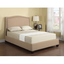 Abigail - King Upholstered Bed.
