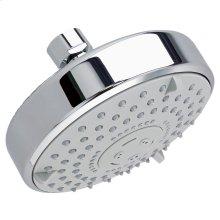 Water Saving Multifunction Rain Showerhead - Polished Chrome