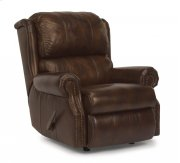 Comfort Zone Leather Rocking Recliner Product Image