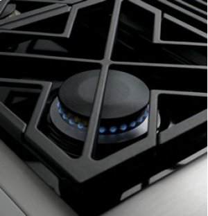 """36"""" Professional Gas Cooktop with 6 Burners"""