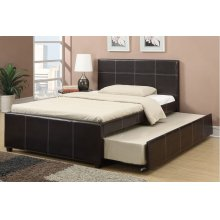 Twin Size Bed W/trundle