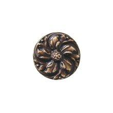 Chrysanthemum - Antique Solid Bronze