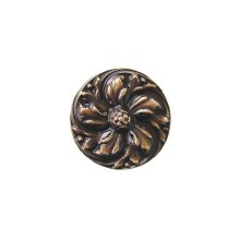 Chrysanthemum - Antique Solid Bronze