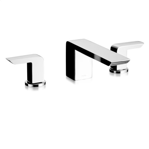 Soirée® Deck-Mount Bath Faucet - Brushed Nickel
