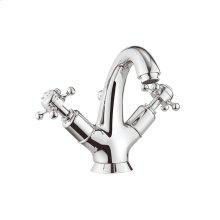 Belgravia Crosshead Tall Spout Single-Hole Lavatory Faucet - Polished Chrome