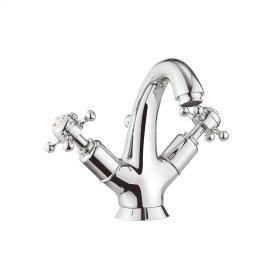 Belgravia Crosshead Tall Spout Single-Hole Lavatory Faucet