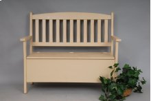 "#279 Mission Storage Bench 45""wx17""dx37""h"