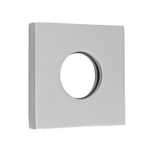 "Polished Nickel - 2"" x 2"" Square Escutcheon"