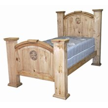Twin Mansion Bed W/star