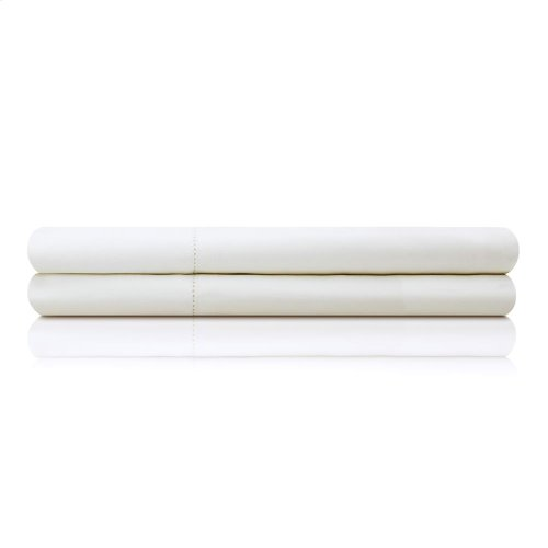 Italian Artisan Sheet Set - Cal King White