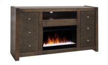 """La Jolla 62"""" Fireplace Console"""
