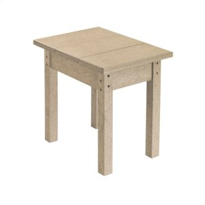 SMALL RECTANGULAR END TABLE *RED ONLY*