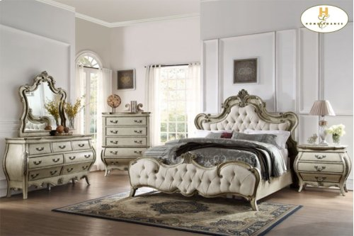 Traditional elegant bedroom set