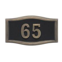 Small Roundtangle HouseMark ® Address Plaques