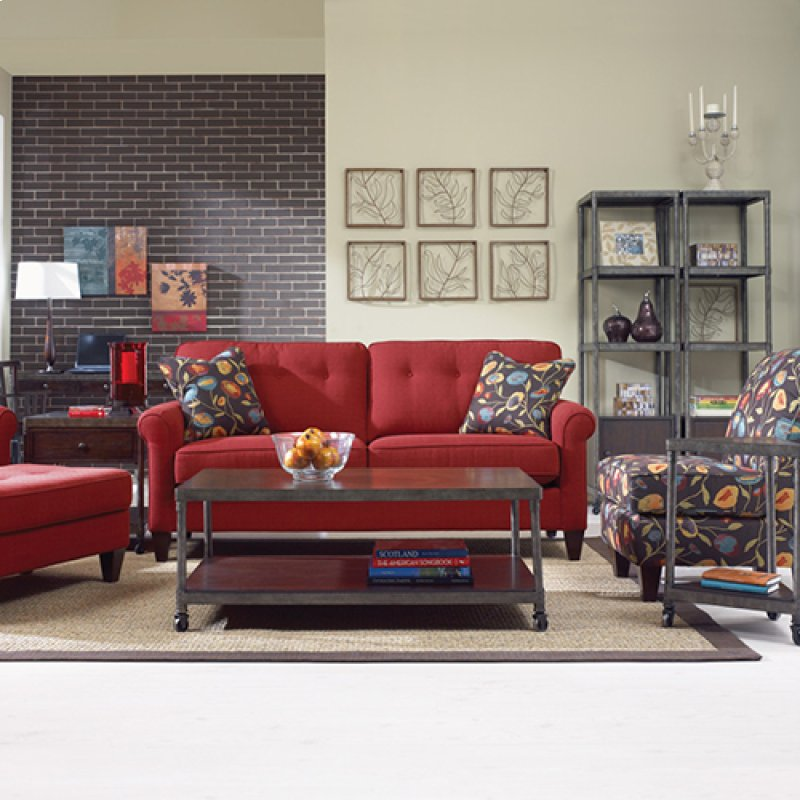 Laurel Premier Sofa In Baltic Cover Color