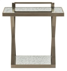 Clarendon Accent Table in Burnished Brass (377)