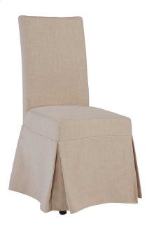 Slipcover Accent Chair - Blush Finish