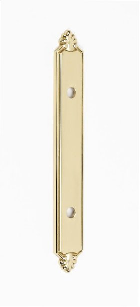 Bella Backplate A1458-35 - Polished Brass
