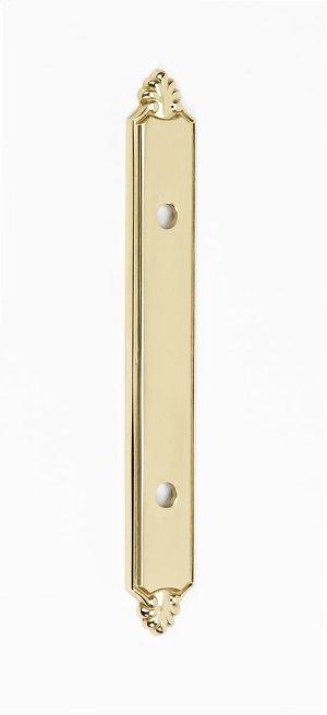 Bella Backplate A1458-35 - Polished Brass