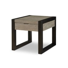 Helix Rectangular End Table