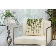 "Royal Palm Ns126 Green 18"" X 18"" Throw Pillows"