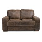Buxton Leather Loveseat Product Image
