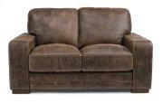 Buxton Leather Loveseat Product Image