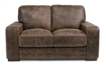 Buxton Leather Loveseat