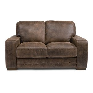 FLEXSTEELBuxton Leather Loveseat