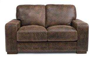 Buxton Leather Loveseat