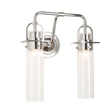 Castleton 2-Light Cylinder Sconce