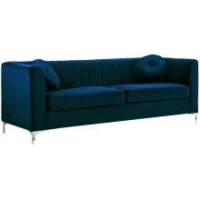 """Isabelle Velvet Sofa - 86.5"""" W x 35.5"""" D x 31"""" H"""