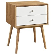Dispatch Nightstand in Natural White