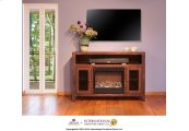 Fireplace & TV Stand w/2 doors & space for Soundbar system*