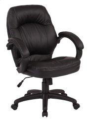 Deluxe Black Managers Chair Product Image