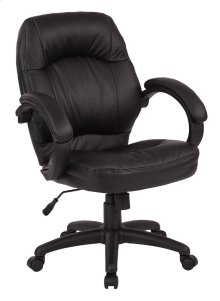 Deluxe Black Managers Chair