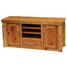Entertainment Center - Natural Cedar
