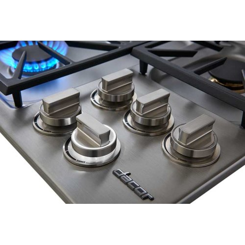 """Heritage 36"""" Dual Gas Cooktop, Natural Gas/High Altitude"""