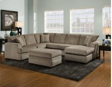 6800 - Cornell Pewter 2-Piece Sectional