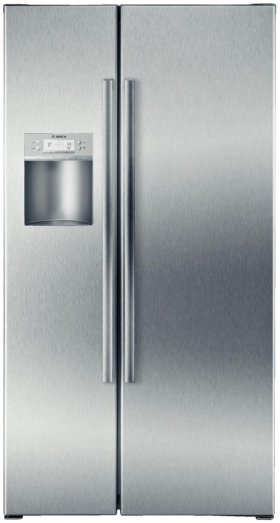 """36"""" Counter Depth Side-by-Side Refrigerator 500 Series - Stainless Steel"""