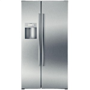"BOSCH36"" Counter Depth Side-by-Side Refrigerator 500 Series - Stainless Steel"