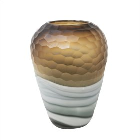 "Glass Vase 13.25"" , Multi"