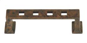 Modern Craftsman Pull 3 Inch (c-c) - Rust