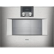 400 Series Combi-steam Oven 24'' Stainless Steel Behind Glass, Door Hinge: Right, Door Hinge: Right