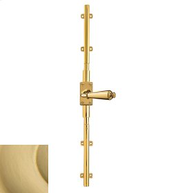 Satin Brass Cremone Bolt